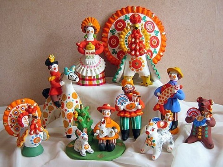 Посетителей музея Эрьзи научат делать дымковские игрушки