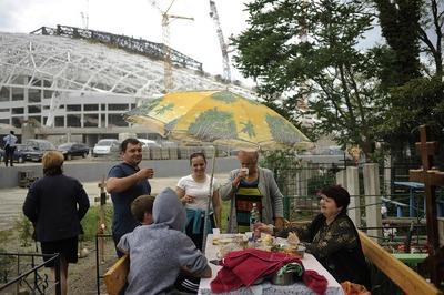 Олимпиада в Сочи пройдет рядом с кладбищем староверов