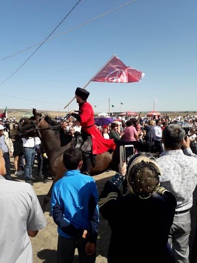 Юрты и спорт: в Ставропольском крае состоялся праздник ногайской культуры