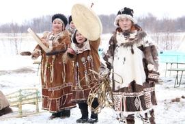 В эвенском селе провели корякский праздник Хололо