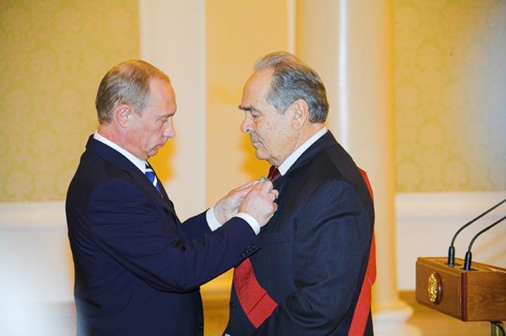 Минтимер Шаймиев получил орден за укрепление межнационального согласия