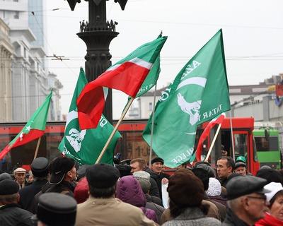 В Татарстане прошел митинг с требованием вернуть обязательное преподавание национальных языков в школах