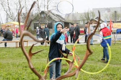 Традиционные Саамкие игры прошли в Ловозере
