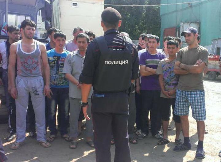 Глава Федерации мигрантов России предложил брать иностранцев на работу в полицию