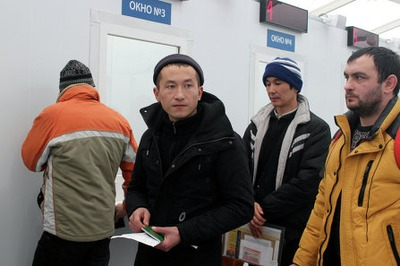 СМИ: ФМС амнистирует 49 тысяч мигрантов-нарушителей из Киргизии