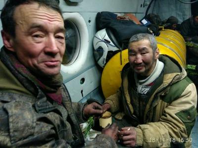 Восьмерых якутских оленеводов спасли с дрейфующей льдины
