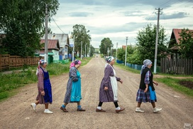 """Фотография """"Бурановских бабушек"""" признана одной из лучших на Best of Russia-2015"""
