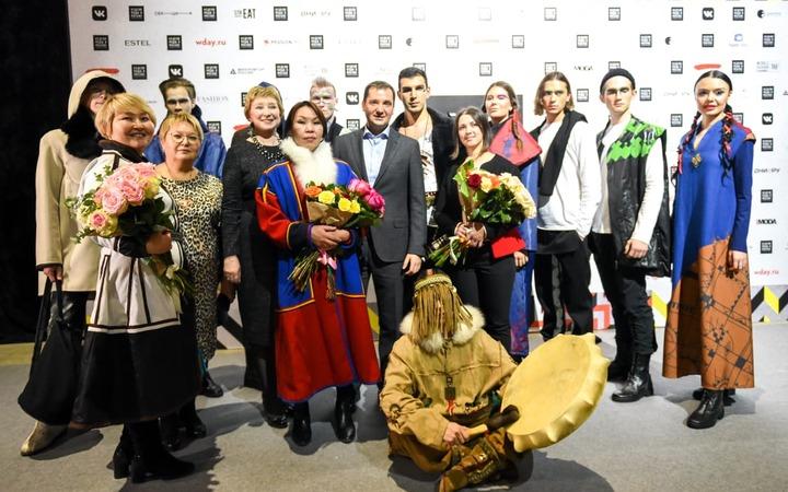 Коллекции ненецких дизайнеров впервые представили на Неделе Моды в Москве