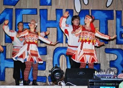 Фестиваль народов Поволжья проходит в Казани