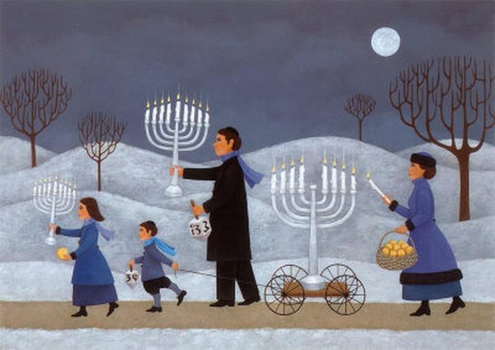 Московские евреи готовятся к Хануке