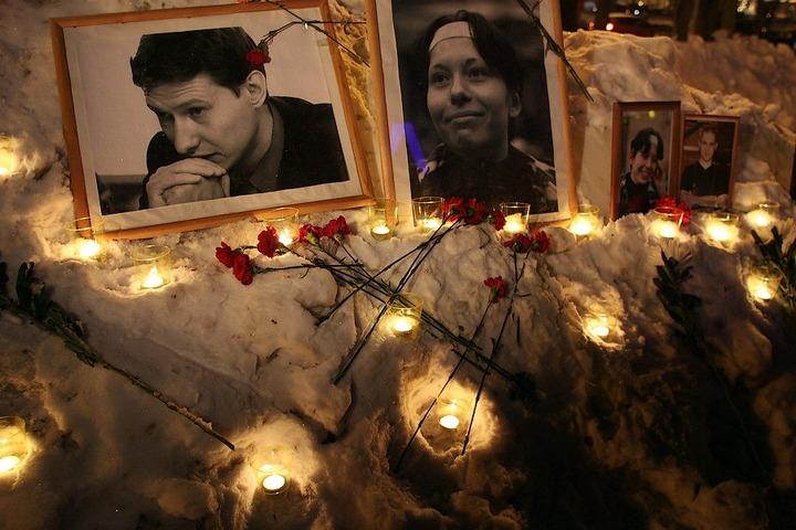 В Москве состоялось шествие в память о Маркелове и Бабуровой
