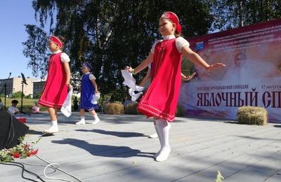 Ижоры Ленинградской области отпраздновали Яблочный Спас