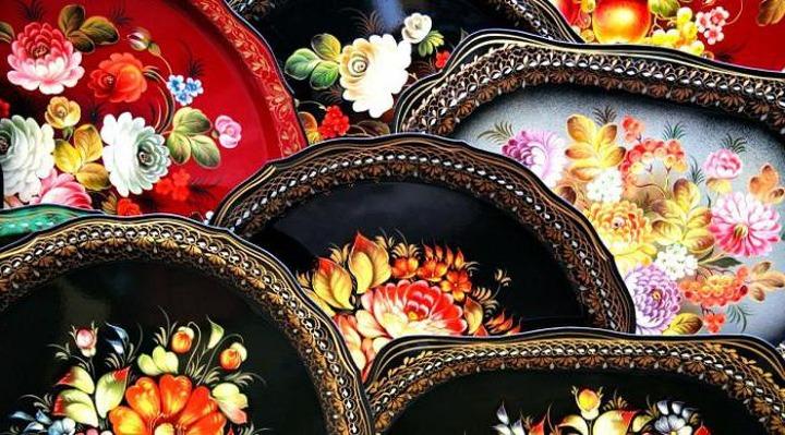 Тагильская роспись подносов может войти в реестр народных промыслов