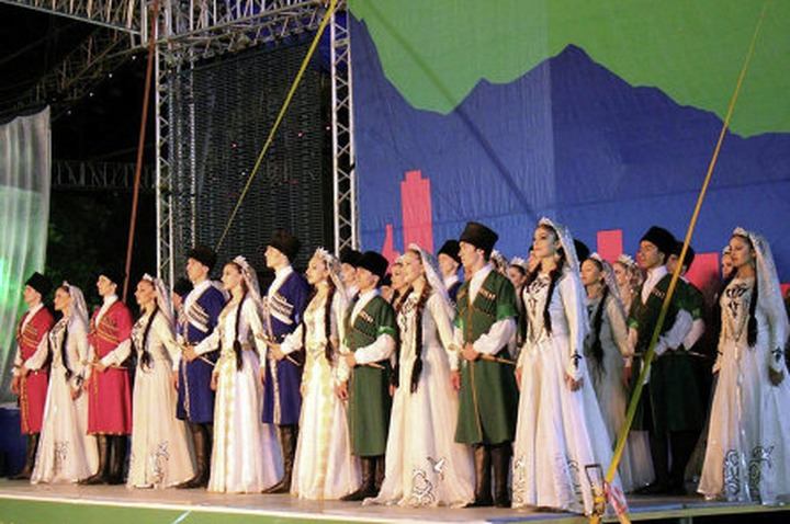 В Москве пройдет юбилейный фестиваль народов Кавказа