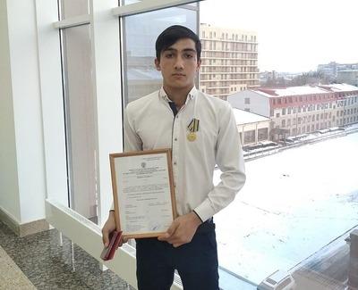 На Ставрополье восьмиклассник за спасение ребенка получил медаль МЧС
