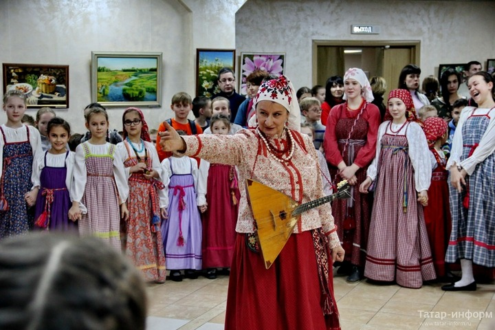 В столице Татарстана провели праздник русской культуры