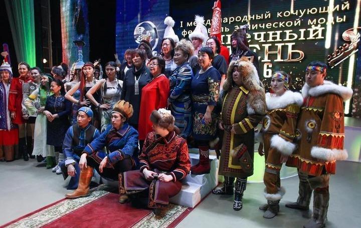 """В Якутии завершился первый кочующий фестиваль этнической моды """"Солнечный Олень"""""""