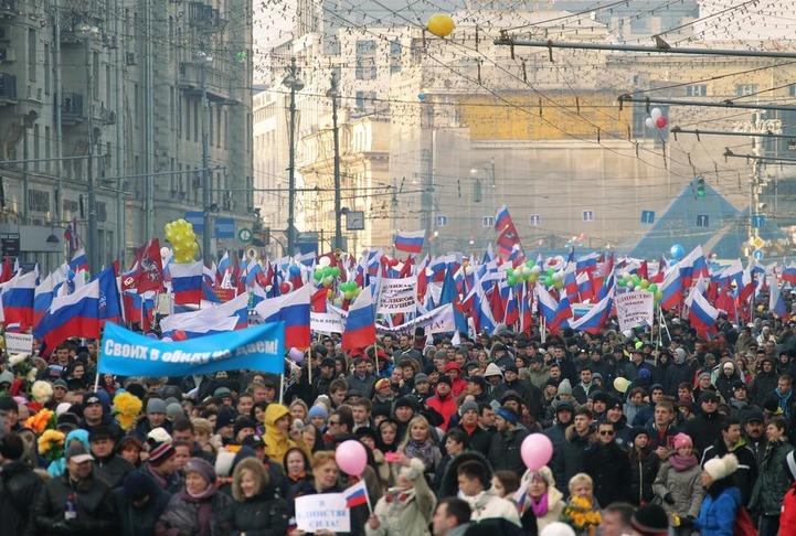 Массовое шествие пройдет в День народного единства в Москве