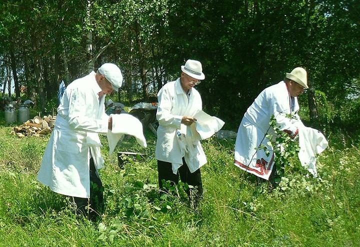 Башкирские приверженцы удмуртской традиционной религии помолились за Путина
