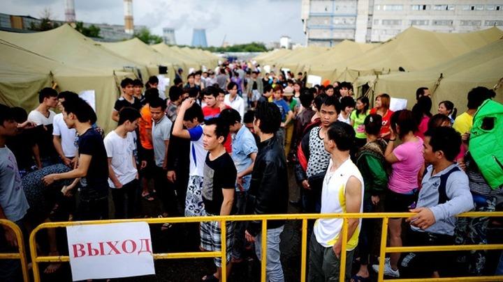 Почти 400 нелегалов задержали в Подмосковье