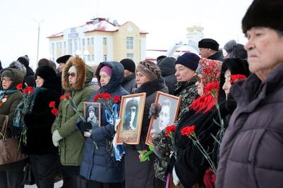 Митинг в память об участниках оленно-транспортных батальонов прошел в Нарьян-Маре
