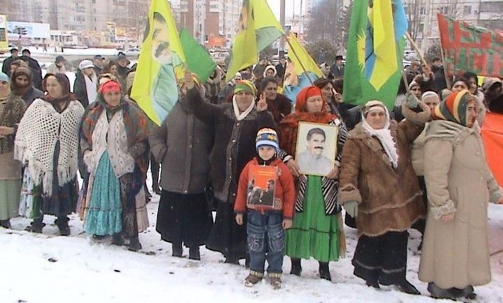 Курды Адыгеи вышли на митинг против турецкого правительства