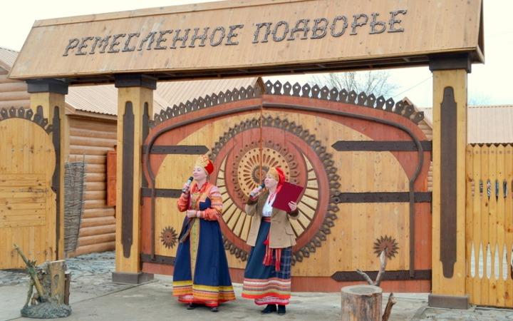 """В Астраханской области открыли """"Ремесленное подворье"""""""