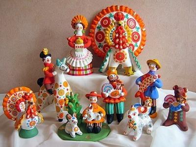 В Кирове открывается выставка дымковской игрушки