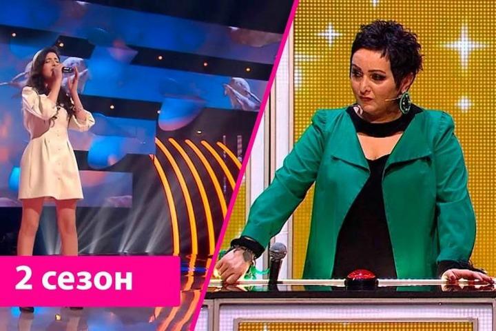 Певица из Махачкалы выступила на телешоу с песней на лезгинском языке