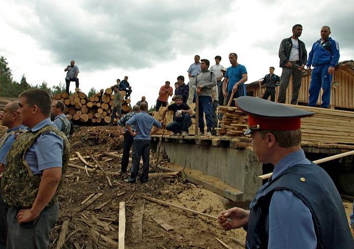 Лесопилку в Демьяново, где произошла массовая драка, снесут 24 сентября