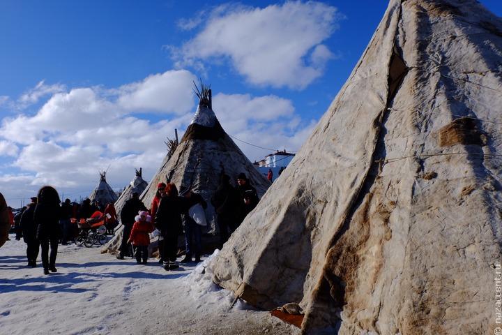 Оленеводы отметили праздник Вылгыкоранмат в селе Мейныпильгино