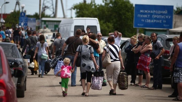 Россия потратила больше 4 млрд рублей в связи с наплывом беженцев с Донбасса