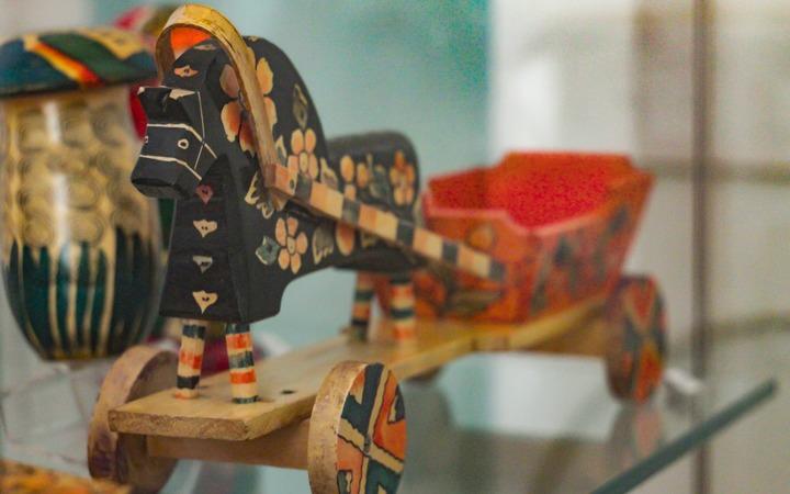 Выставка нижегородской деревянной игрушки в РГБИ