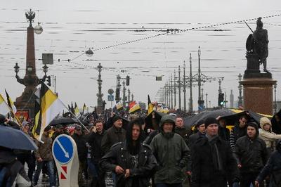 """Ответственность за убийство мигранта в Санкт-Петербурге возложили на организаторов """"Русского марша"""""""