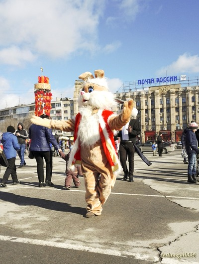 Парад Маслен в Волгограде