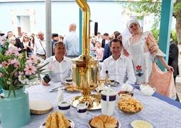 На федеральном Сабантуе гостям раздали 160 кг. чак-чака