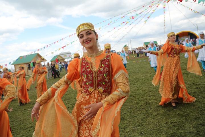 Всероссийский сельский Сабантуй прошел в Ульяновской области