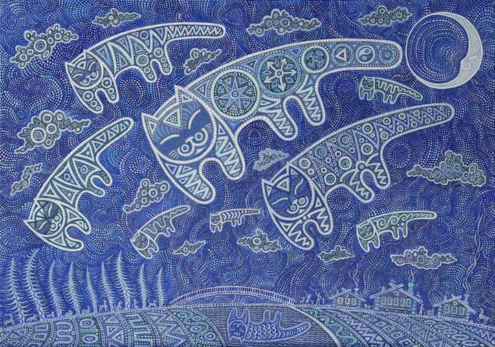 """Этнофутуристическое искусство представят на """"Кӧльыёшурма"""" в Удмуртии"""