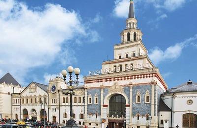 На Казанском вокзале в Москве открылась экспозиция о культуре Кавказа