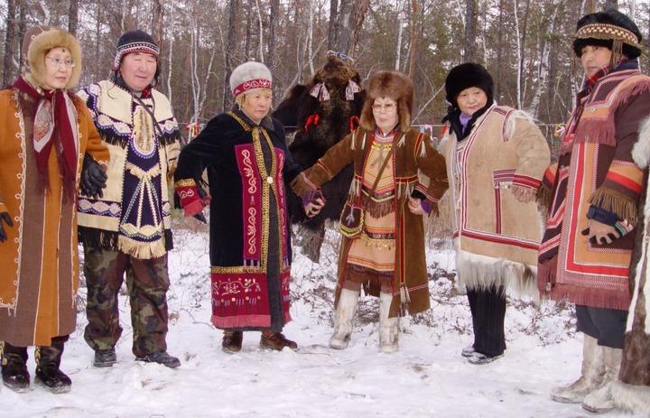 Эвенкийский праздник первого снега отметили в Якутске