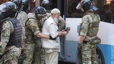 Более 40 крымских татар задержали на акции протеста в Симферополе
