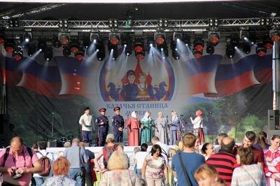 """Фестиваль """"Казачья станица Москва"""" посетили 85 тысяч человек"""