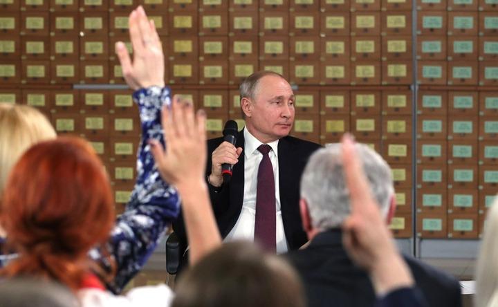 Путин поприветствовал участников открытия Года языков коренных народов в Югре