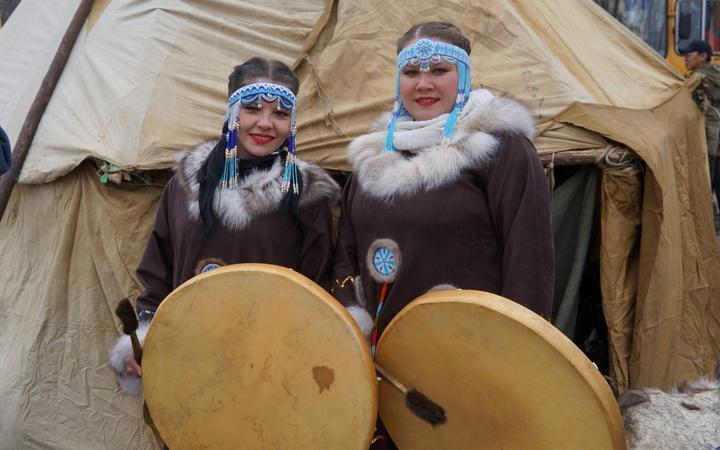 На национальном празднике чукчей и коряков Кильвей провели обряд примирения