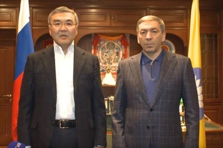 Глава правительства Дагестана извинился перед калмыками за осквернение статуи Будды