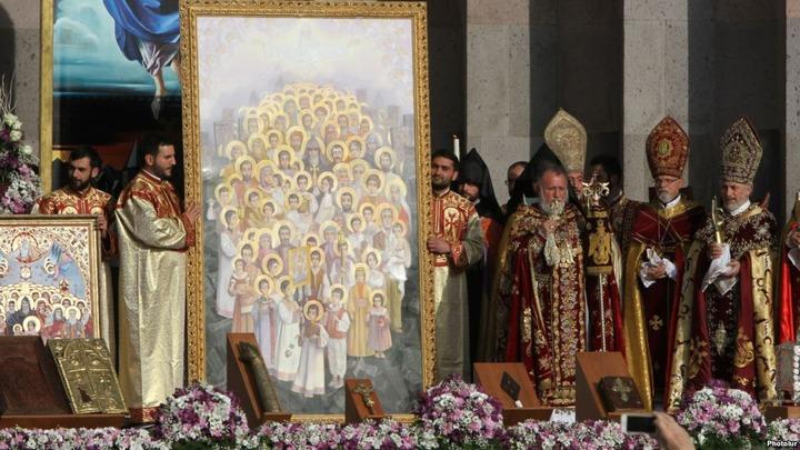 В Ростове прошла трансляция канонизации 1,5 миллионов жертв геноцида армян
