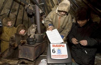 На Ямале тундровики приступили к досрочному голосованию