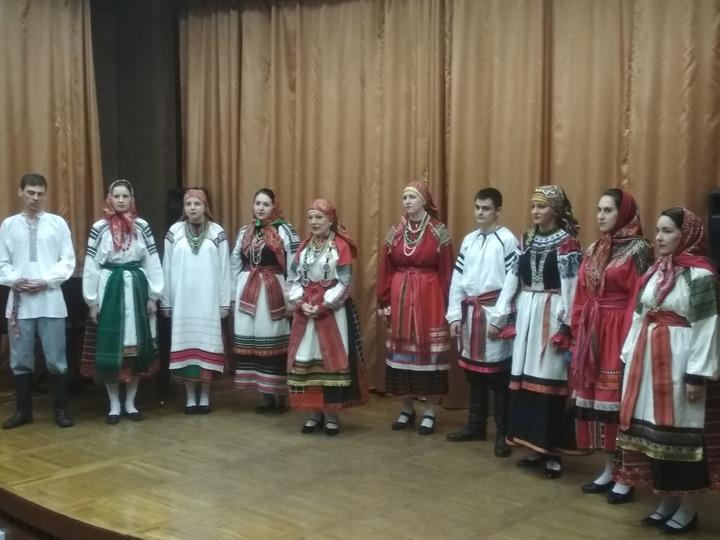 Воронежцам рассказали о региональной  песенной традиции и устроили концерт