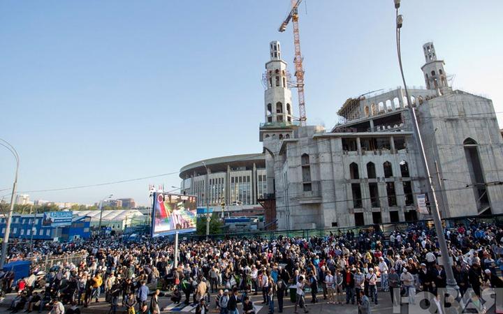 Глава Московского муфтията: Мечетей в городе не хватает