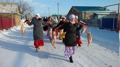 Праздник гусиного пера провели в Курганской области